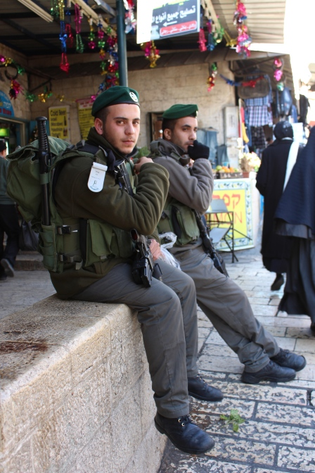 IDF soldiers in East Jerusalem