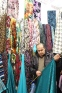 Fabric neighborhood in the Suleimaniya bazaar