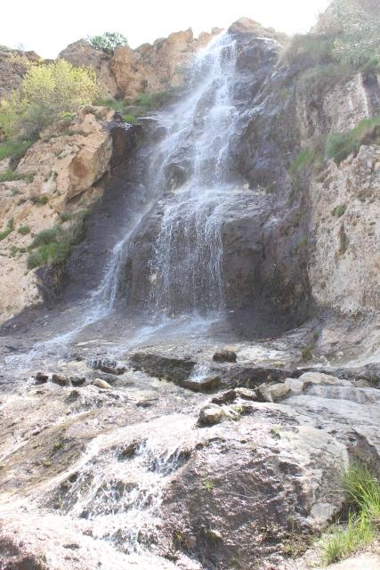 Small waterfall in Suhok, near the dam.