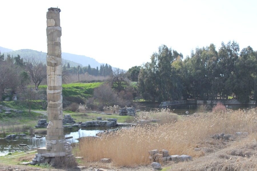 Ruins of the Temple of Artemis.