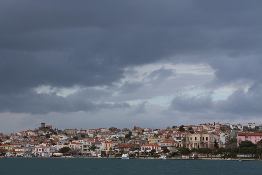 Ayvalik, as seen from my ferry.