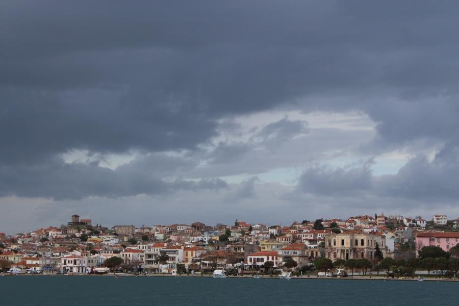 Ayvalik, as seen from my ferry.
