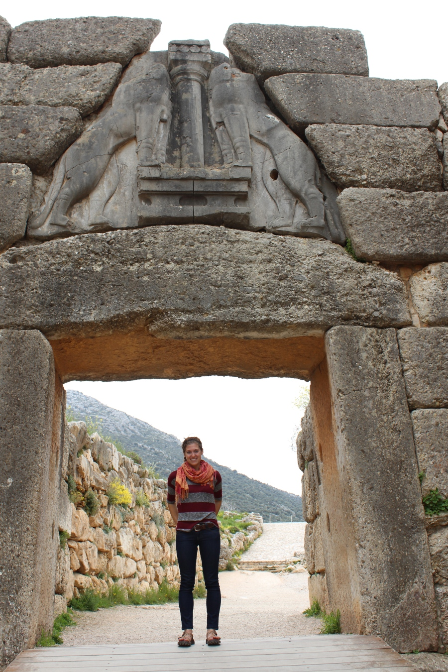 The Lion Gate, Mycenae.