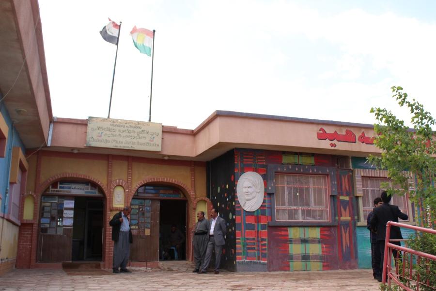 Parez's art school in Halabja.