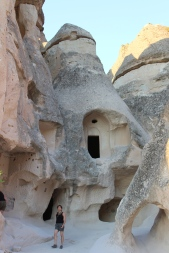 Cave homes in Cappadocia