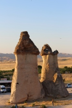 Penis rocks in Cappadocia