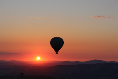Sunrise balloon flight in Cappadocia
