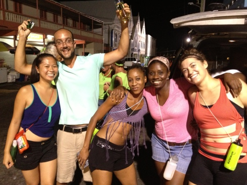 early-morning (4am?) jouvert.