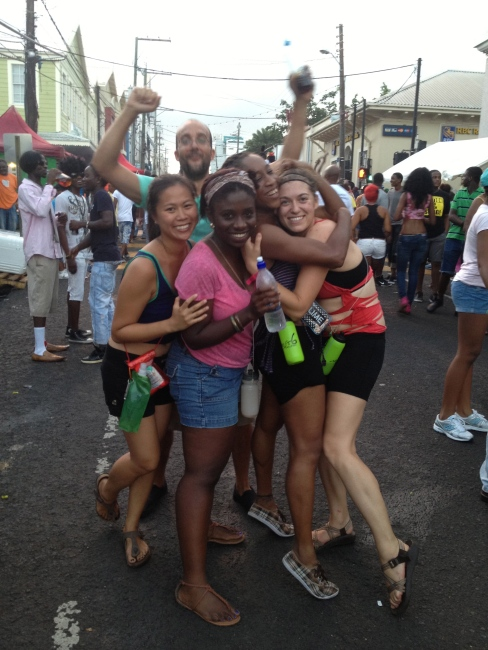 sun-up (7am?) jouvert.
