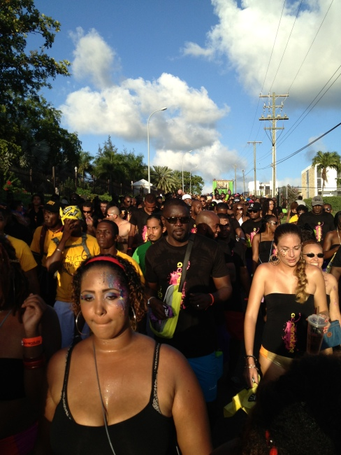 afternoon jouvert.