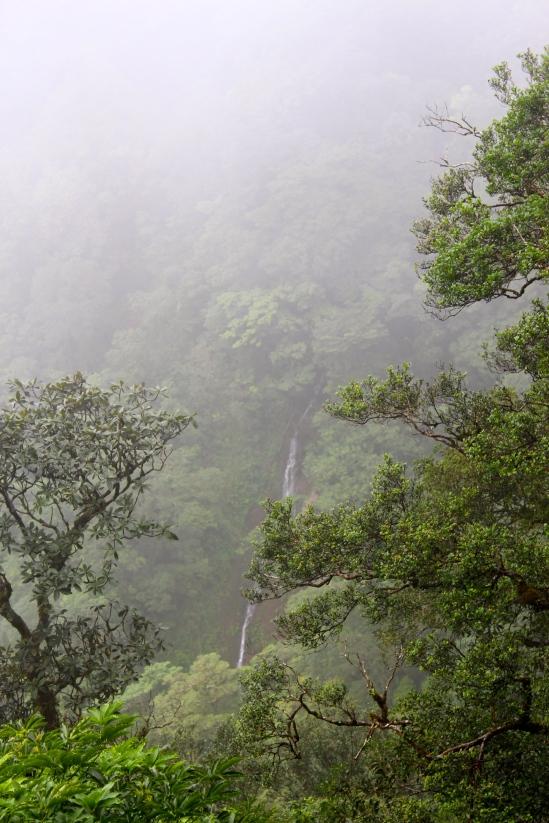 San Ramon waterfall.