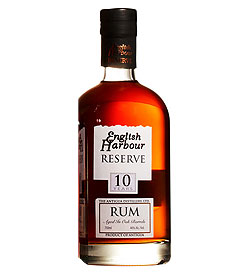 English Harbour - it's Antiguan rum.