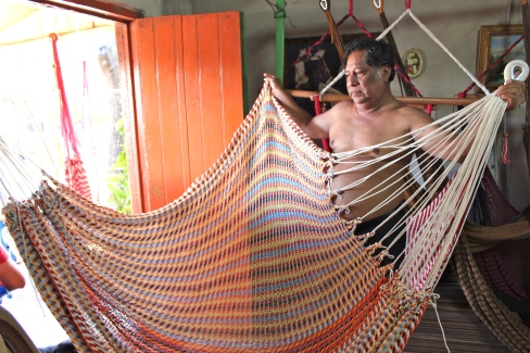 A family-owned hammock factory.
