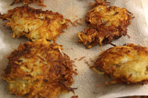 Ready-to-eat latkes