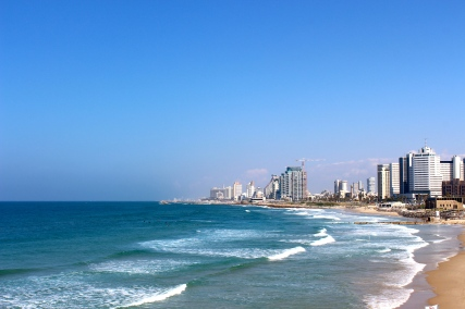 View of Tel Aviv from Jaffo.